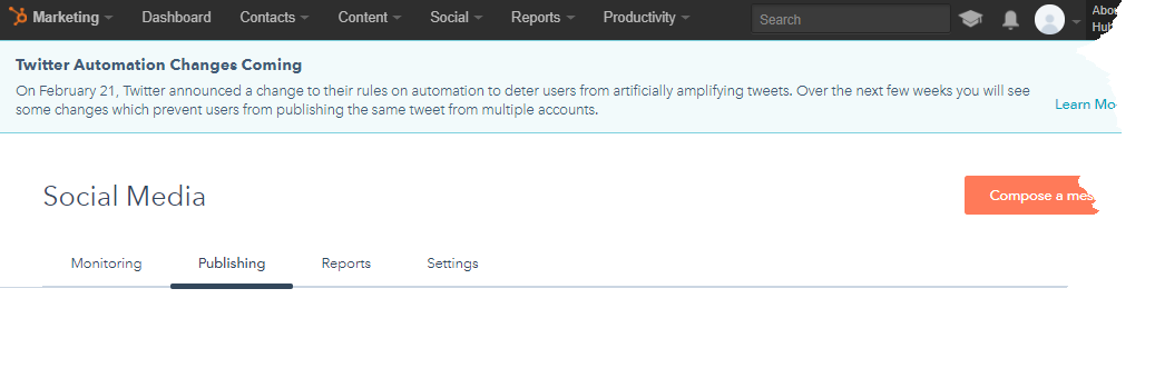 Twitter Automation Changes Coming On February 21, Twitter announced a change to their rules on automation to deter users from artificially amplifying tweets. Over the next few weeks you will see some changes which prevent users from publishing the same tweet from multiple accounts.