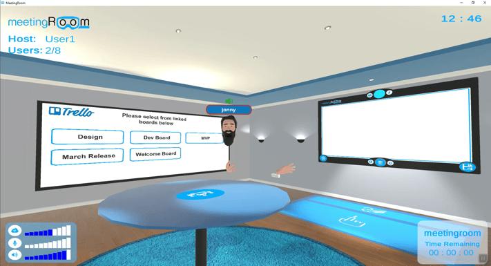 meetinroom.io virtual 3d meetingroom VR